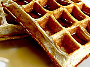 Buckwheat Protein Waffles