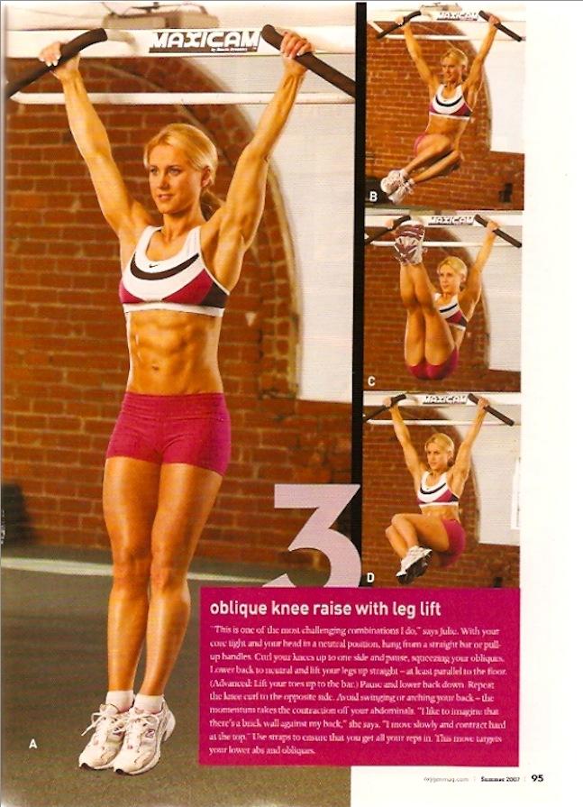 Oxygen Magazine Cover Model