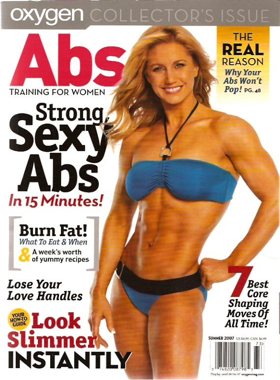 Julie Lohre Oxygen Magazine Cover