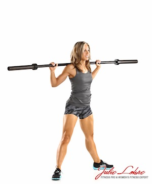 Wide Barbell Squat