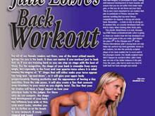 Body Fitness UK – Back Workout