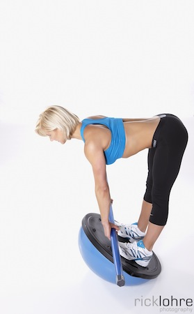 Bosu Deadlift