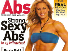 Oxygen Magazine Abs Cover Model