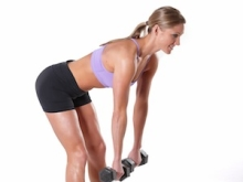 Stiff Leg Dumbell Deadlift