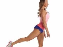 Walking Lunge Kick Back