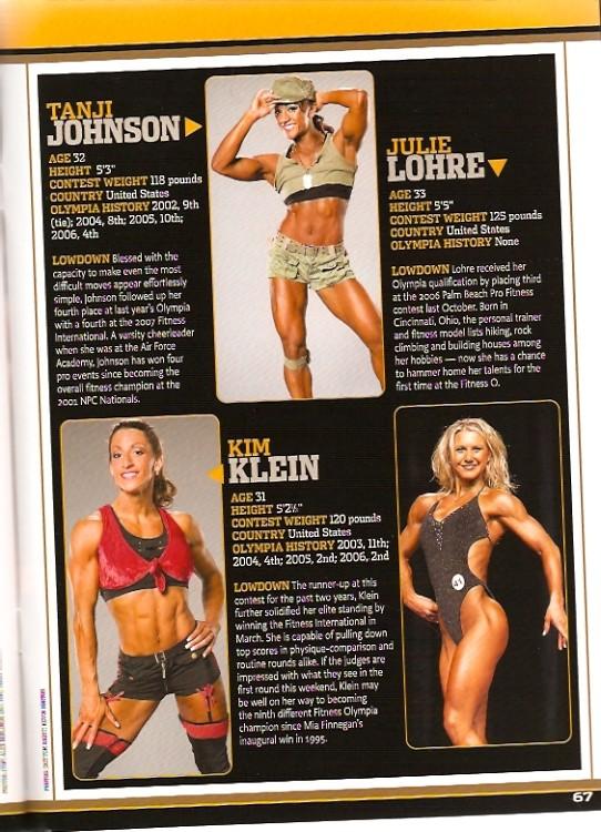Flex Magazine - Fitness Olympia