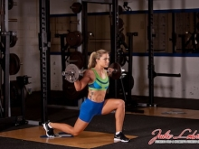 Barbell Forward Lunge