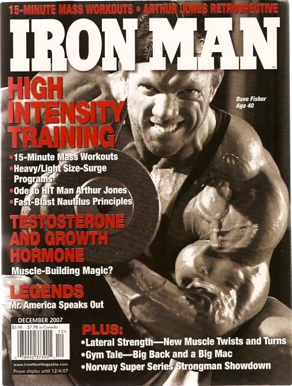 Iron Man Magazine Fitness Award