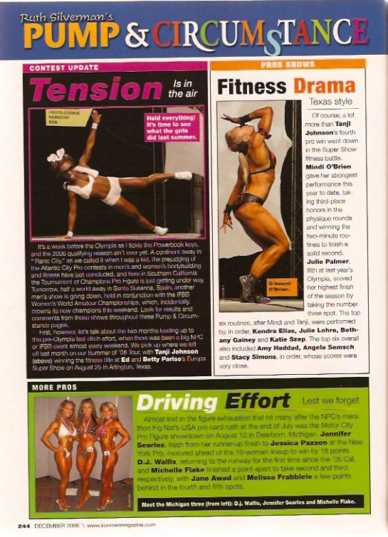 IronMan Magazine Pump & Circumstance with Ruth Silverman