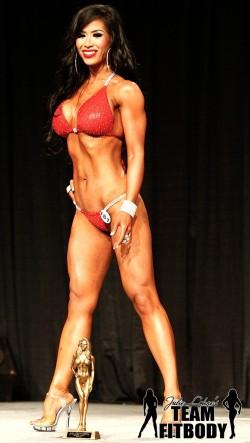 Julie Lohre FITBODY Profile Maria Garcia NPC Bikini Winner