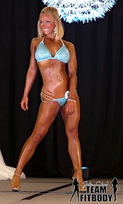 Julie Lohre FITBODY Profile Taylor Temnick NPC Derby Classic Bikini