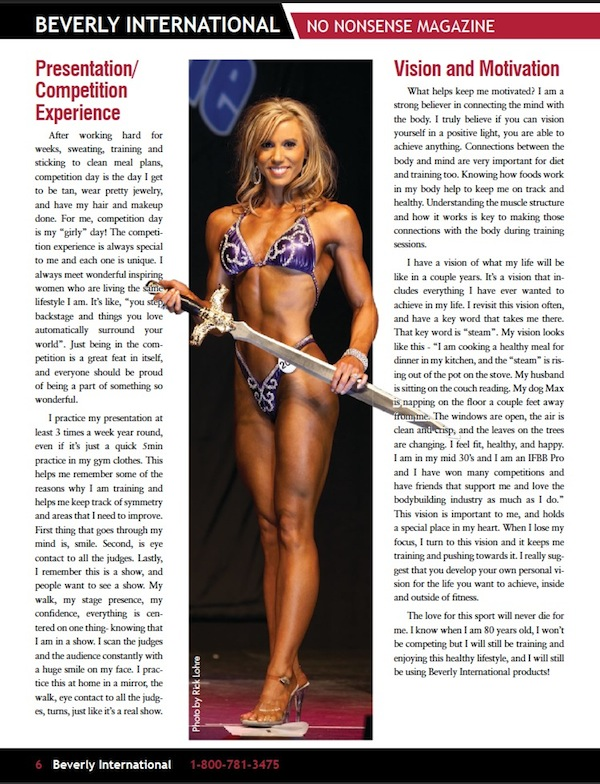 Julie Lohre Hyla Conrad Beverly International No Nonsense Magazine