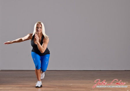Lateral Leap Squats