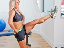 Lunge With Kick to Front
