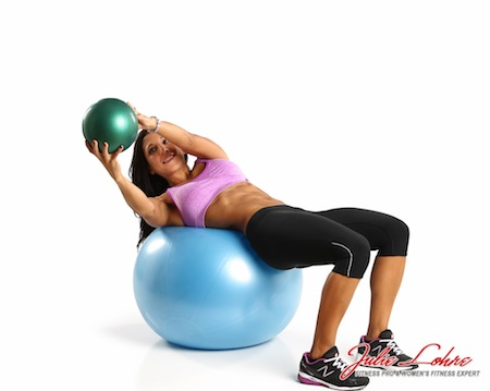 Med Ball Oblique Twists