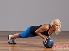 Med Ball Pushups