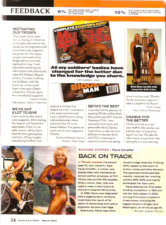 Muscle & Fitness Julie Lohre