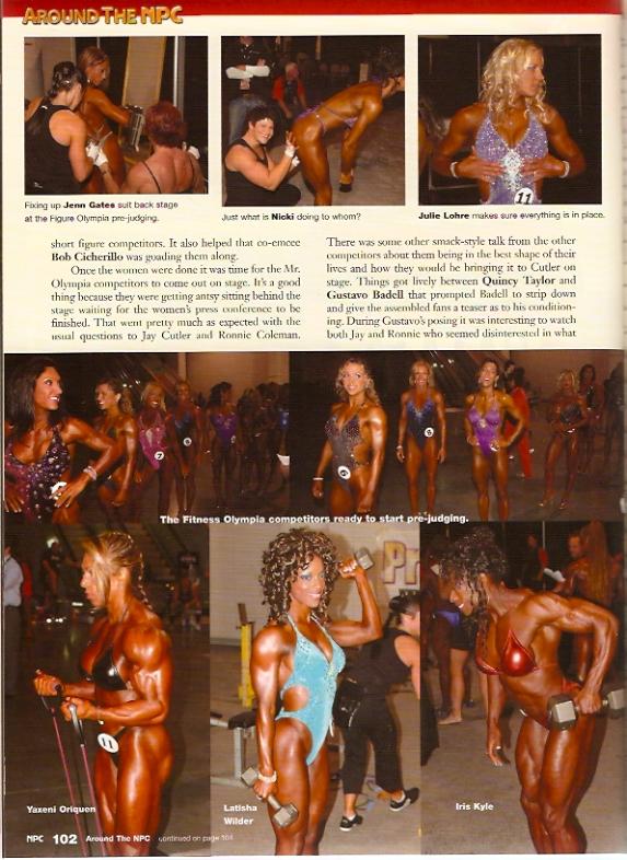 NPC News - Around the IFBB Olympia