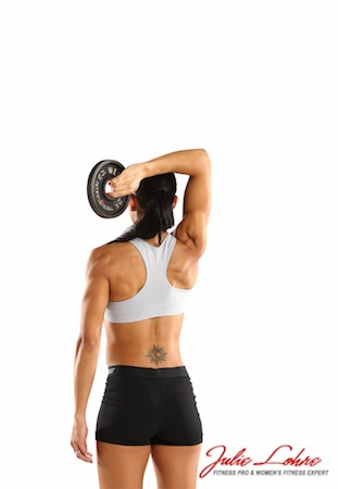Overhead Single Arm Tricep Extension