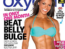 Oxygen Magazine features Julie's Contest Prep Camp