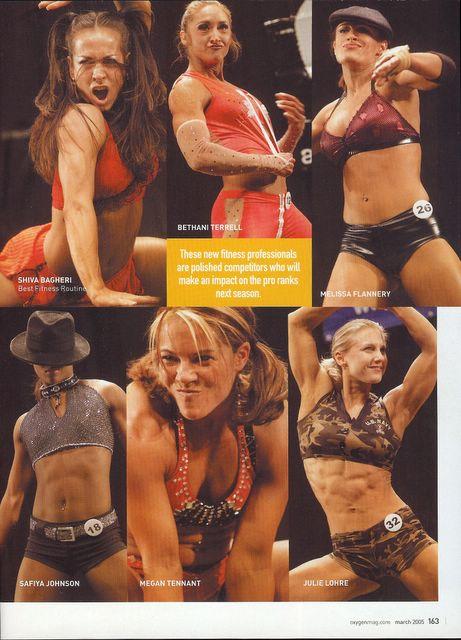 Oxygen Magazine - New IFBB Fitness Pros