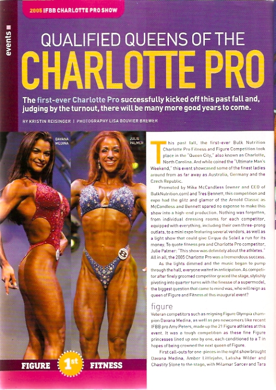 Oxygen Magazine Charlotte Pro IFBB