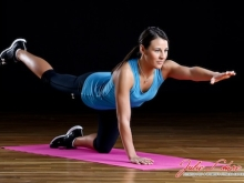 Pilates Arm Leg Extension