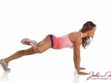 Plank with Side Leg Kick