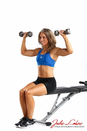 Seated Dumbell Overhead Press
