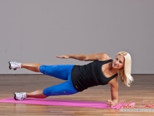 Side Plank with Arm & Leg Raise
