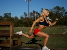 Single Leg Lunge off Bench