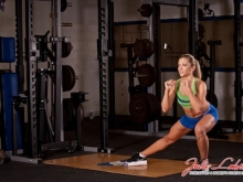 Single Leg Slide Squat
