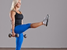 Single Leg Squat Forward Kick