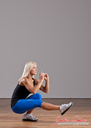 Pistol Squat - Single Leg Squat