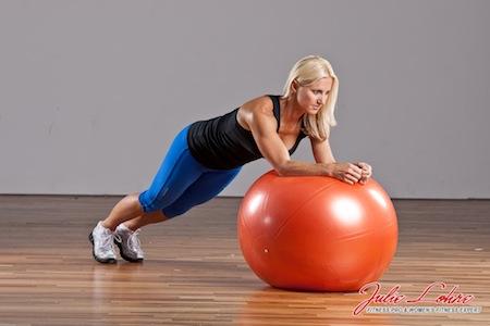 Stability Ball Circles