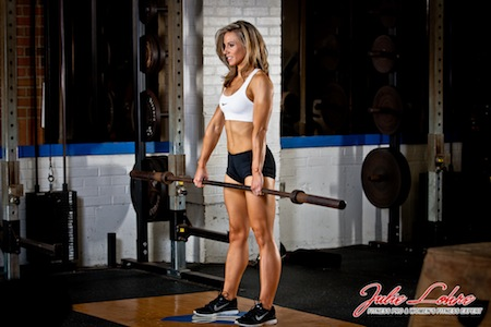 Stiff Leg Barbell Deadlift