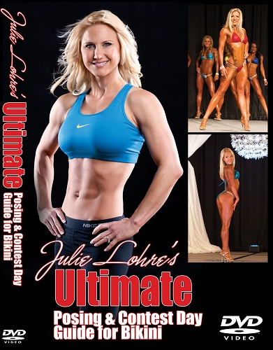 Julie Lohre Bikini Posing DVD