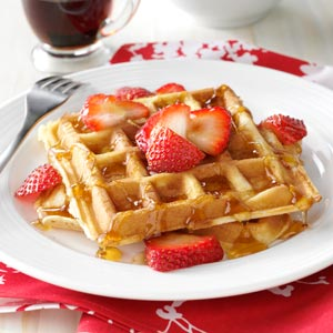 Protein powder recipe Belgian Waffles