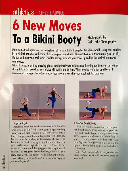 11 Athletics Bikini Training
