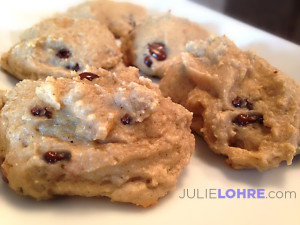Gluten Free Chocolate Chip Protein Cookies