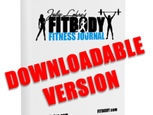 FITBODY Fitness Journal – Download Edition