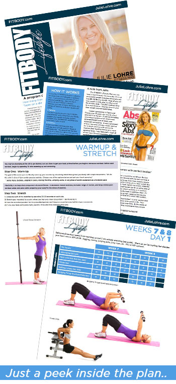 Julie Lohre - Workout Routine for Women