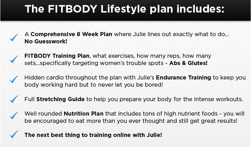 What the FITBODY Lifestyle Plan Includes