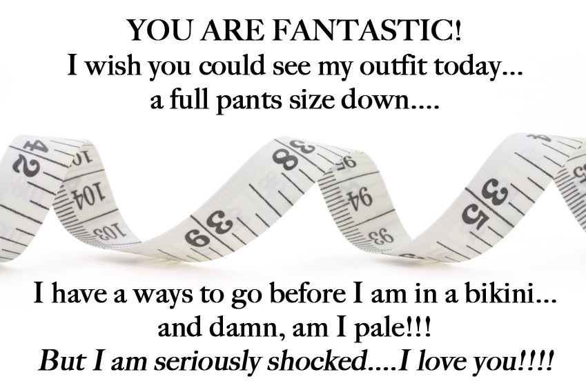A full pants size down
