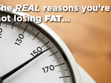 The REAL reasons you're not losing FAT