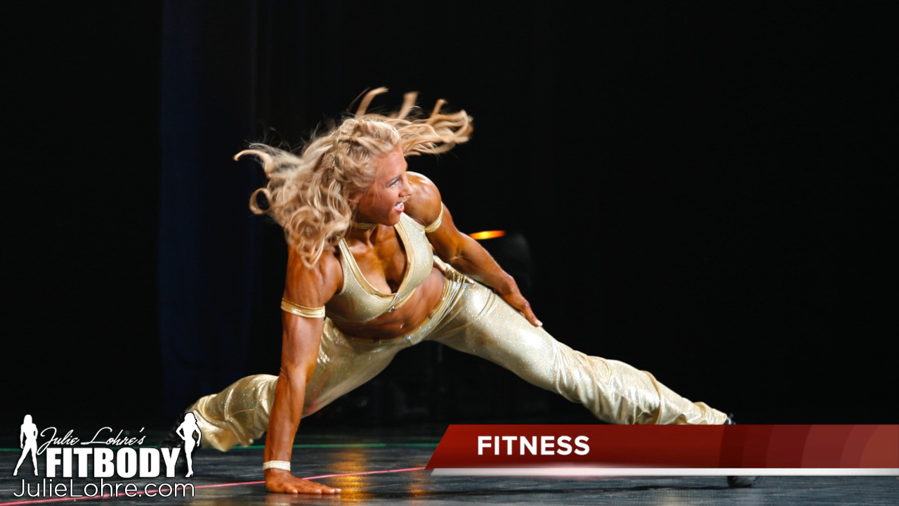 Julie Lohre - Routine - Fitness Division