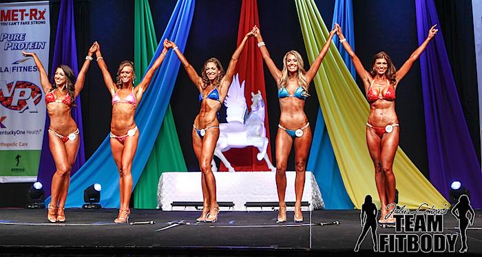 Carrie Weisbecker Top 5 NPC Bikini