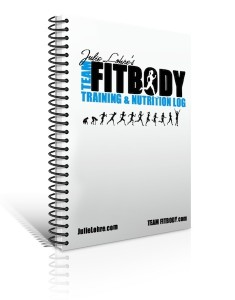 Julie Lohre's FITBODY Training Log Journal