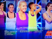 Julie Lohre competes in Season 6 of American Ninja Warrior on NBC