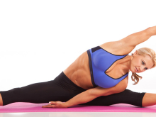 Straddle Side Stretch